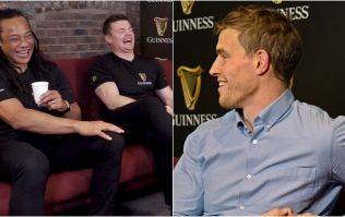 Andrew Trimble has BOD and Tana Umaga in stitches with spear tackle remark