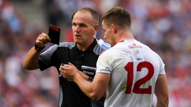 Sin-bin to remain among GAA rule changes, but only for black card offences