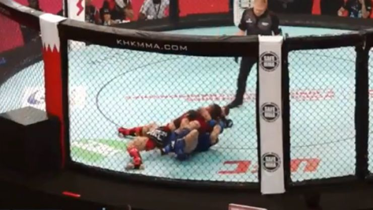 SBG prodigy Lee Hammond pulls off incredibly rare submission at IMMAF Worlds