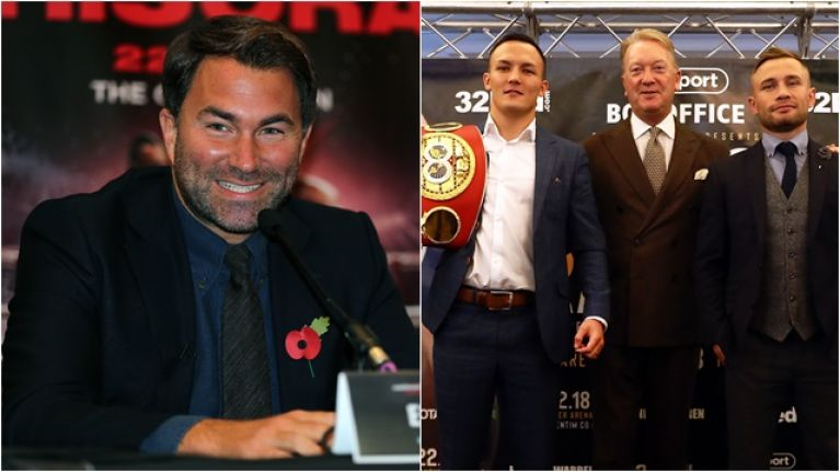Frank Warren hits out at Eddie Hearn for pay-per-view scheduling conflict