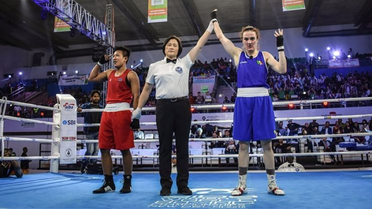 Kellie Harrington joins exclusive club with World Championship gold medal