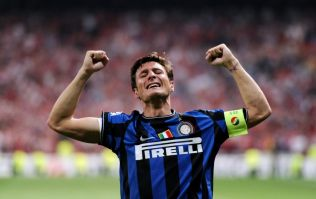 Javier Zanetti claims he could leg press 500kg