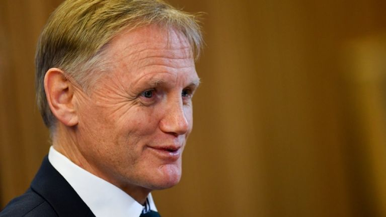 One line in Joe Schmidt's press conference suggests a ...