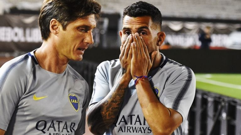 Superclásico madness in Argentina as Carlos Tevez and Boca Juniors teammates targeted in pre-match bus attack