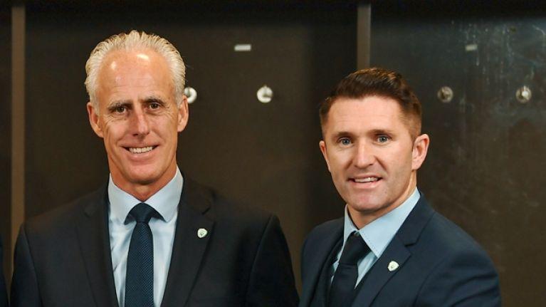 Mick McCarthy explains Robbie Keane's role in new Ireland setup