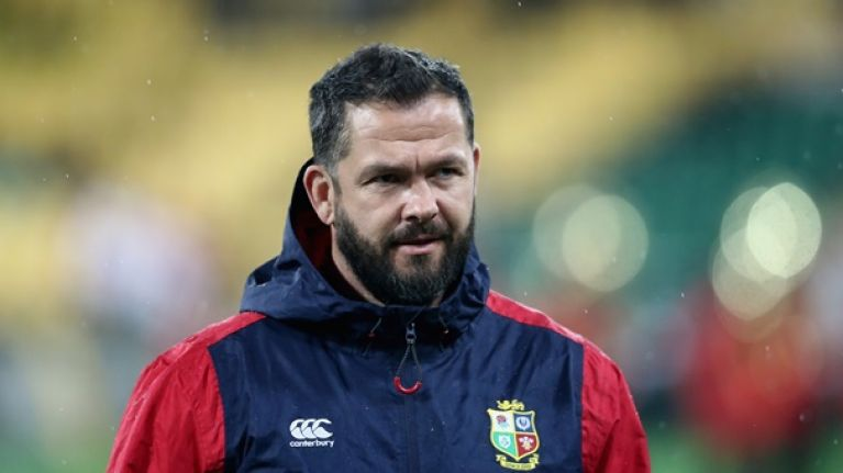 Clive Woodward almost full with despair that Ireland have secured Andy Farrell