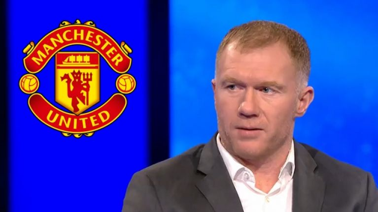 Paul Scholes was deeply unimpressed with Man United's performance in narrow Champions League win