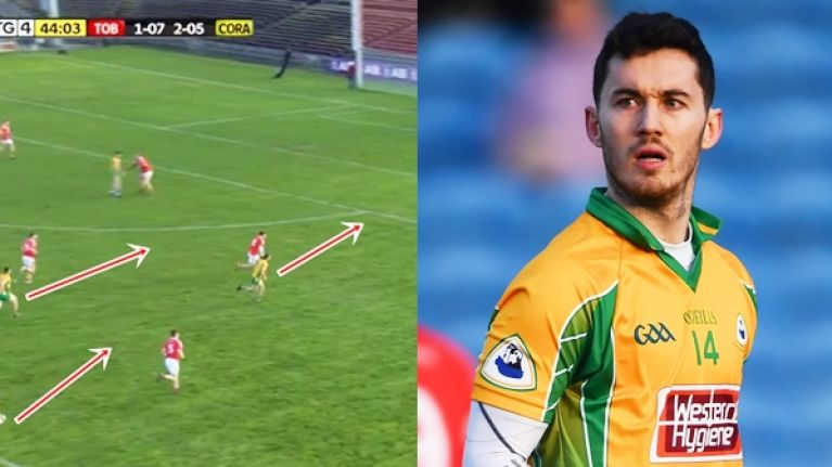With everyone plotting defensive systems, Corofin's attacking one for Ian Burke is bloody refreshing