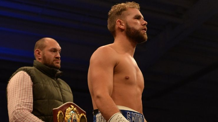 Billy Joe Saunders has bet a ridiculous amount of money on a Tyson Fury win this weekend