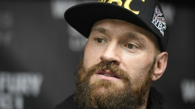 Stop the presses because Tyson Fury has complimented Anthony Joshua and Eddie Hearn