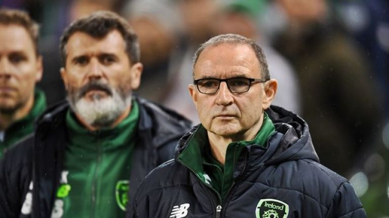 Martin O'Neill is no longer the Republic of Ireland manager