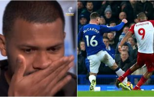 Salomon Rondon TV interview ends in tears as he recalls breaking James McCarthy's leg