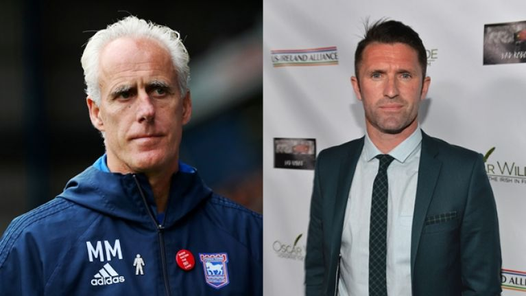 Mick McCarthy will reportedly be offered Ireland job with Robbie Keane as his assistant