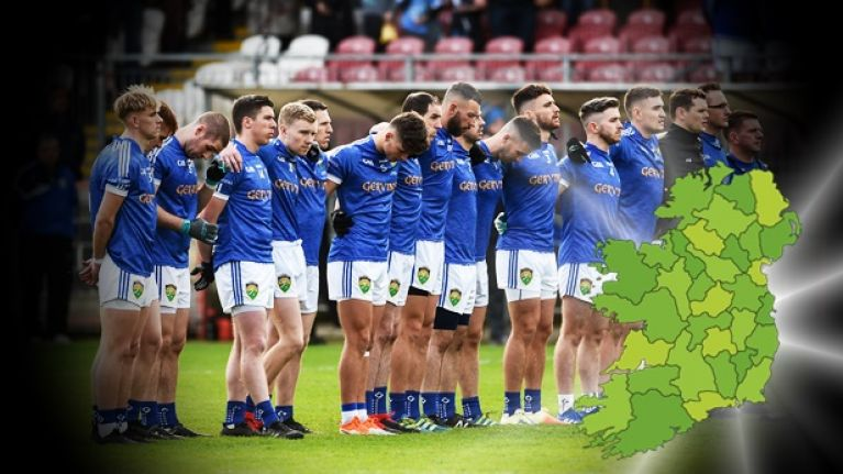 Can you name the county from the club football championship winner for 2018?