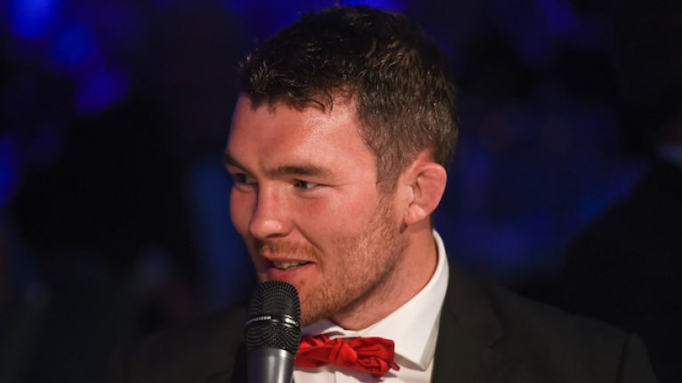 Peter O'Mahony on The Late Late Show tonight