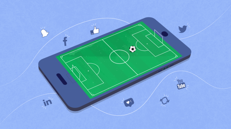 How the internet and social media changed the game for football