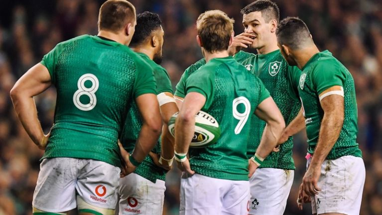 Three uncapped players included in Ireland Six Nations squad
