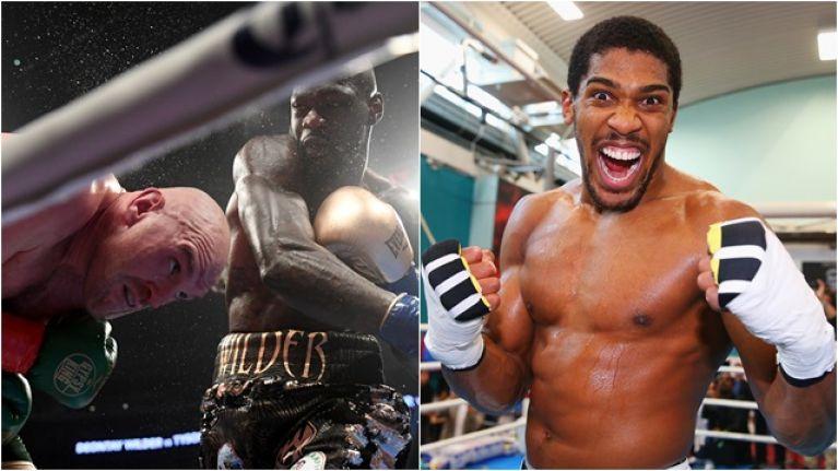 Anthony Joshua breaks silence after Tyson Fury vs. Deontay Wilder