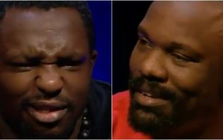 Dereck Chisora with possibly the weirdest threat in boxing history