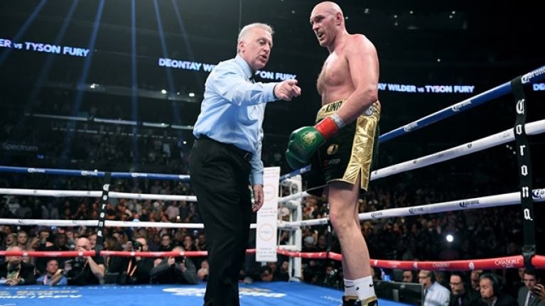 Referee Jack Reiss explains why he allowed Tyson Fury to keep fighting in 12th round