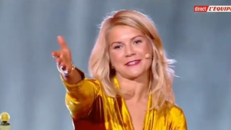 The part of Ada Hegerberg's speech nobody will be talking about