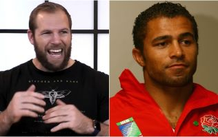 Funny James Haskell tale about Jason Robinson teaching English forwards foot-work