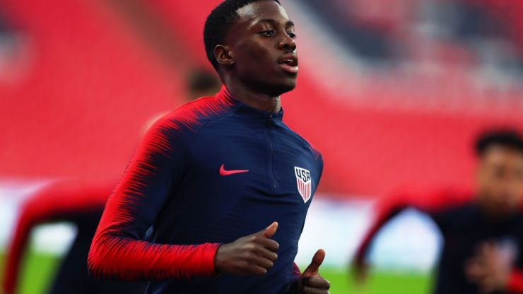 George Weah's son Timothy could be on his way to the Premier League in January