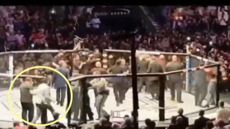UFC bans Conor McGregor fan who ran into Octagon at UFC 229