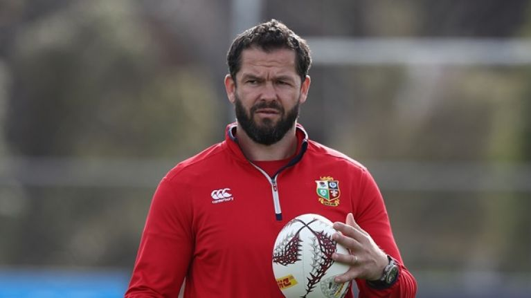 Andy Farrell a favourite to become next British & Irish Lions coach