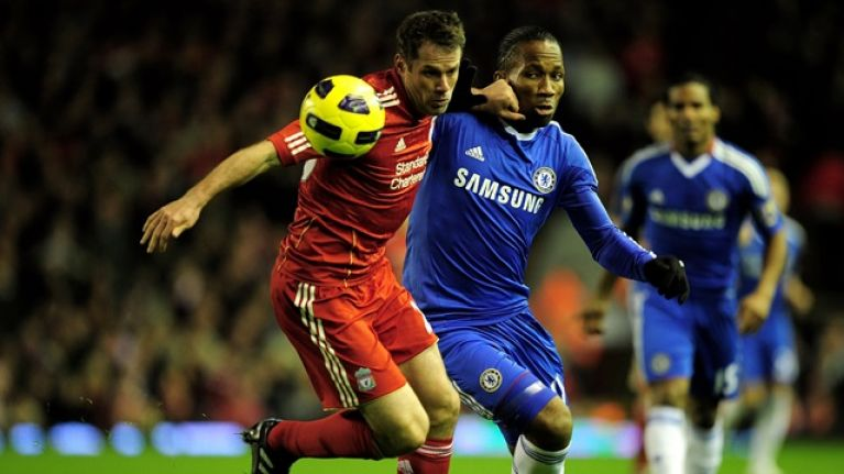 Jamie Carragher reveals the old rule Liverpool players had about Didier Drogba