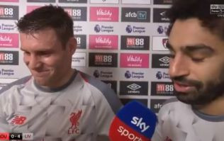 Mo Salah refuses to take Man of the Match award and gives it to Milner instead