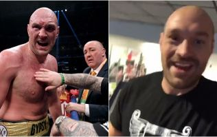 Tyson Fury already back in the gym preparing for Deontay Wilder rematch