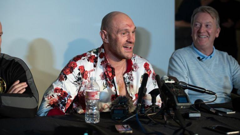 Frank Warren reveals when we can expect Tyson Fury vs. Deontay Wilder II