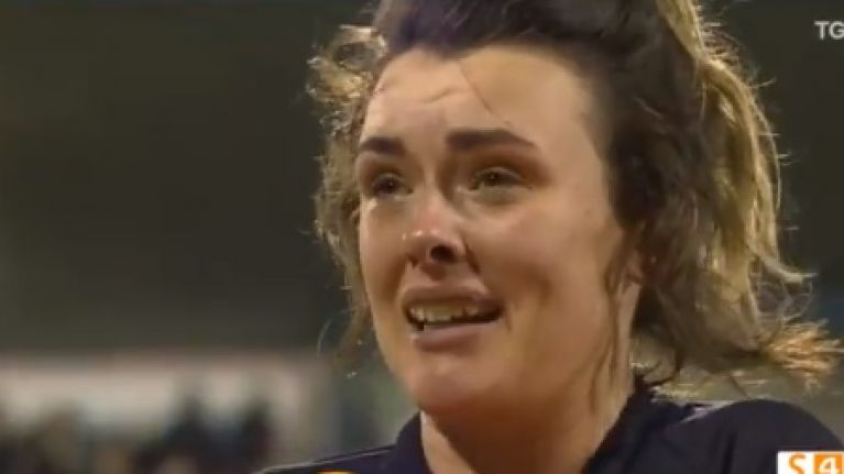 Teary Doireann O'Sullivan sums up what All-Ireland win means for Mourneabbey