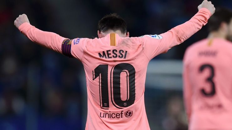 Lionel Messi may have just scored the best free-kick of his career