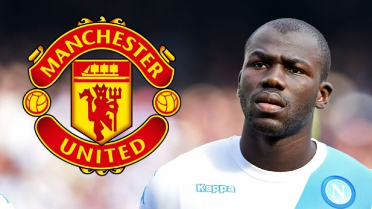 Man United quoted world record fee for Napoli defender Kalidou Koulibaly