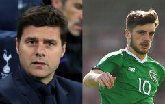 MauricioPochettino spoke about Troy Parrott after Tottenham win
