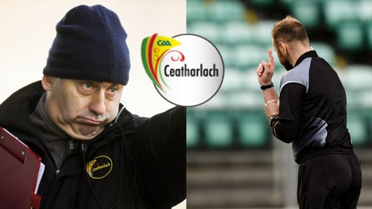 """""""No one wants to see that"""" - Turlough O'Brien unimpressed by new rules after Carlow's first day out"""