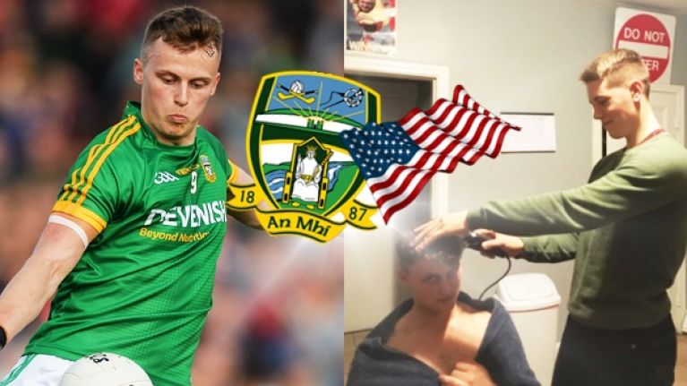 Two roommates flying home from Boston to play against each other in Meath under-21 final