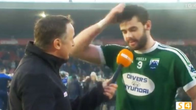 Odhran Mac Niallais sums up what club is all about in one powerful post-match interview