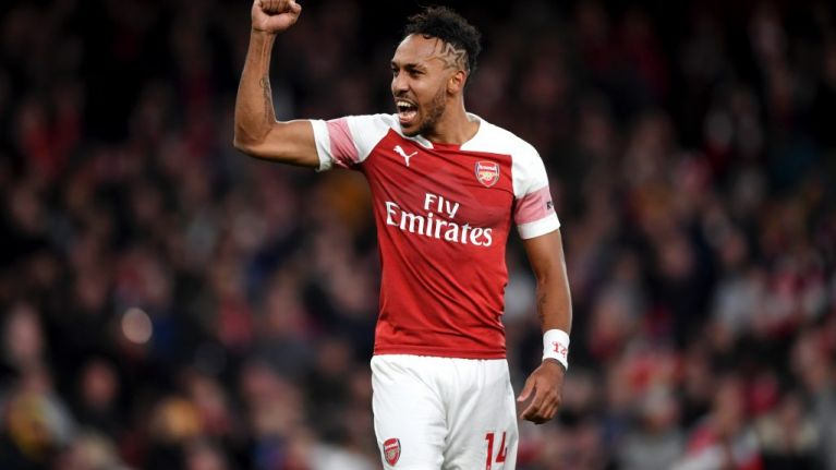Spurs fan arrested after throwing banana skin at Pierre-Emerick Aubameyang