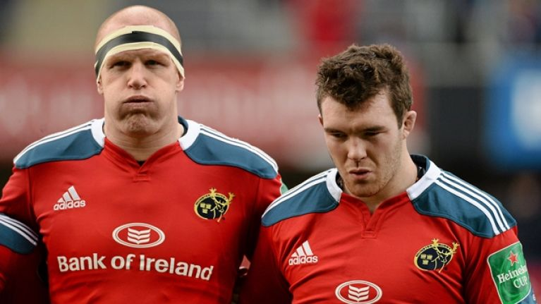 When Paul O'Connell laid down the law to Murray and O'Mahony on Munster team bus