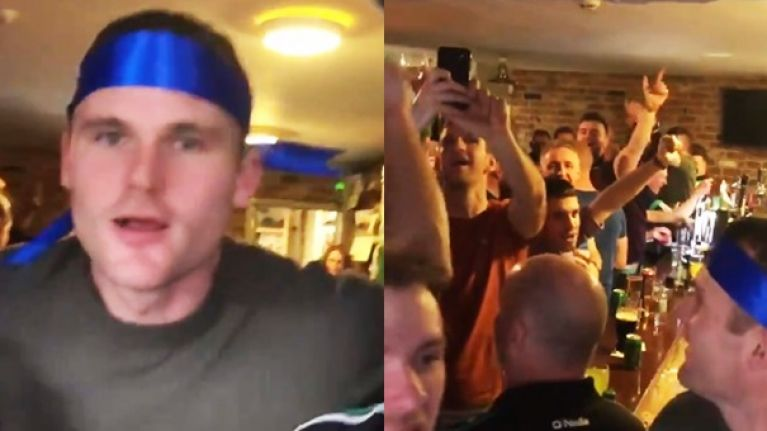 Few pubs have witnessed the scenes going on in Micís in Gaoth Dobhair right now
