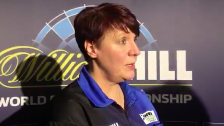 """""""We're not scared of the men, we'll have a good go"""" - Lisa Ashton almost had it"""
