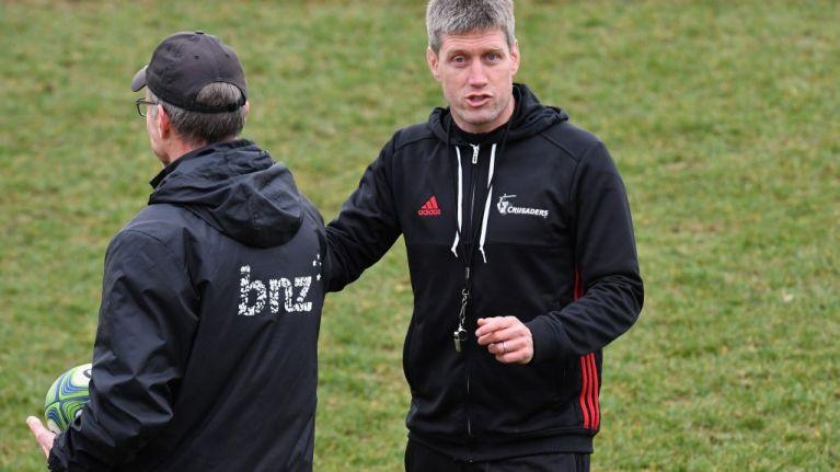 Ronan O'Gara thinks that Joe Schmidt will return to coach in New Zealand