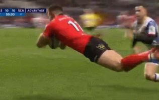 Jacob Stockdale scores another brilliant try for Ulster against the Scarlets