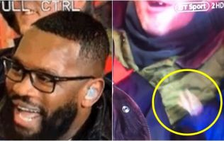 English rugby fan's teeth fall out as he passionately seranades BT Sport pundits