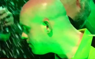 Michael van Gerwen forced to change shirt after beer is hurled from crowd