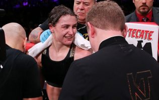 Katie Taylor had an emphatic message for Amanda Serrano after her latest win