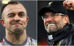 You could see what Klopp was telling Shaqiri on the touchline before the sub